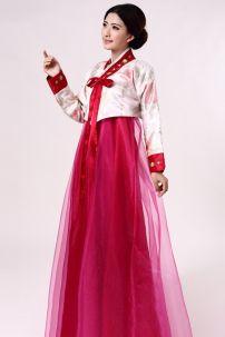 Hanbok Đỏ Đô Giá Rè 9747