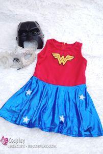 Đầm Wonder Woman Bé Gái