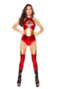 Đồ Siêu Anh Hùng Nữ Flash Sexy