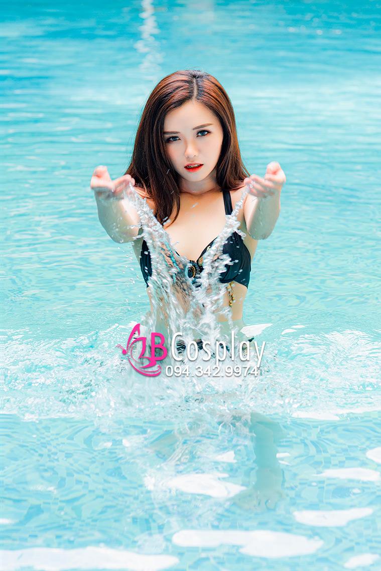 Đồ Bơi Bikini Ngọc Trai Đen
