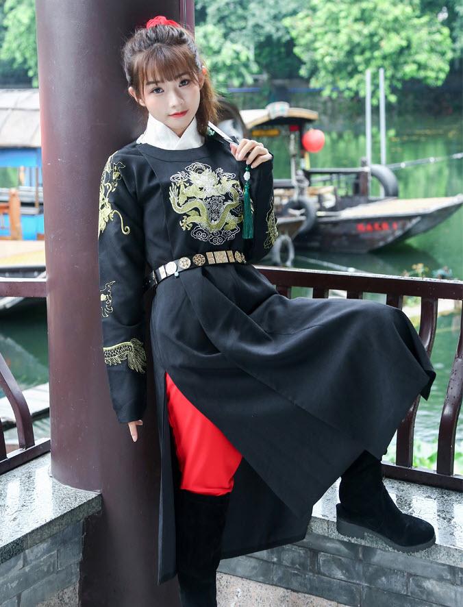 Đồ Hán Phục Nam Hào Kiện - Nữ Mặc OK