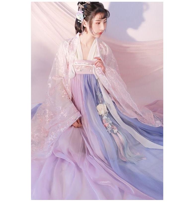 Hán Phục Xích Chu Tử Váy 6m